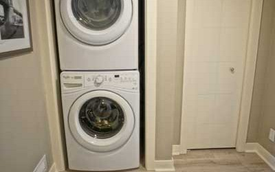 One Bedroom -<br />Washer & Dryer